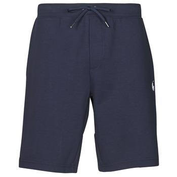 Textiel Heren Korte broeken / Bermuda's Polo Ralph Lauren SHORT DE JOGGING EN DOUBLE KNIT TECH LOGO PONY PLAYER Marine