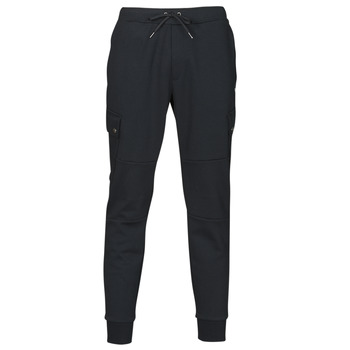 Textiel Heren Trainingsbroeken Polo Ralph Lauren PANTALON DE JOGGING CARGO EN DOUBLE KNIT TECH LOGO PONY PLAYER Zwart