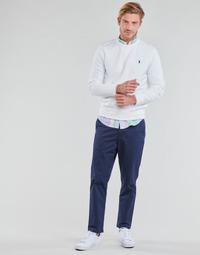 Textiel Heren 5 zakken broeken Polo Ralph Lauren PANTALON CHINO PREPSTER AJUSTABLE ELASTIQUE AVEC CORDON INTERIEU Marine