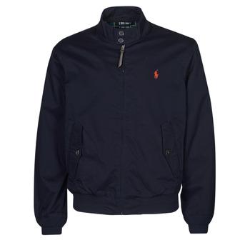 Textiel Heren Wind jackets Polo Ralph Lauren BLOUSON BARACUDA COTON DOUBLE LOGO PONY PLAYER Blauw