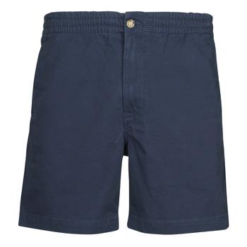 Textiel Heren Korte broeken / Bermuda's Polo Ralph Lauren SHORT PREPSTER AJUSTABLE ELASTIQUE AVEC CORDON INTERIEUR LOGO PO Marine