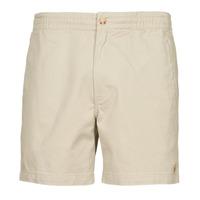 Textiel Heren Korte broeken / Bermuda's Polo Ralph Lauren SHORT PREPSTER AJUSTABLE ELASTIQUE AVEC CORDON INTERIEUR LOGO PO Beige