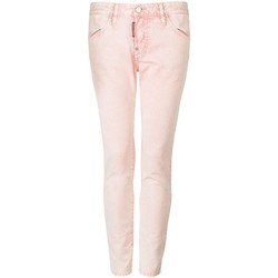 Textiel Dames 5 zakken broeken Dsquared  Roze