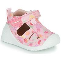 Schoenen Meisjes Sandalen / Open schoenen Biomecanics 212212 Roze