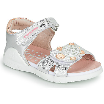 Schoenen Meisjes Sandalen / Open schoenen Biomecanics 212172 Zilver