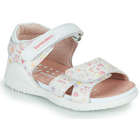 Schoenen Meisjes Sandalen / Open schoenen Biomecanics 212165 Wit / Multikleuren