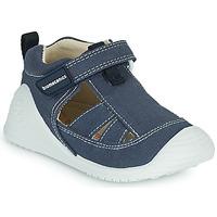 Schoenen Jongens Sandalen / Open schoenen Biomecanics 202211 Blauw