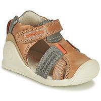 Schoenen Jongens Sandalen / Open schoenen Biomecanics 212135 Cognac