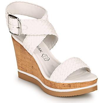 Schoenen Dames Sandalen / Open schoenen Chattawak JANE Wit