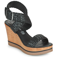 Schoenen Dames Sandalen / Open schoenen Chattawak JANE Zwart