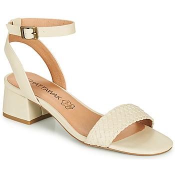 Schoenen Dames Sandalen / Open schoenen Chattawak MUSCADE Creme