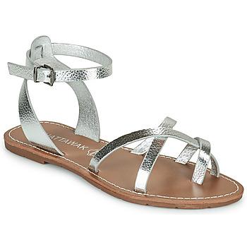 Schoenen Dames Sandalen / Open schoenen Chattawak PERLA Zilver
