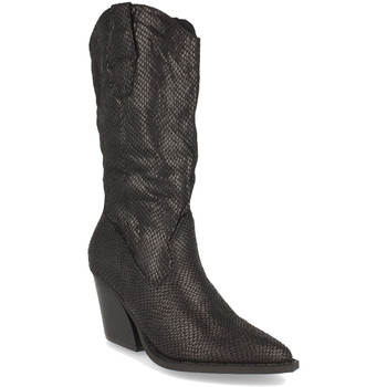 Schoenen Dames Hoge laarzen Buonarotti 1A-0475 Negro