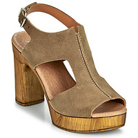 Schoenen Dames Sandalen / Open schoenen Myma POULISSA Taupe