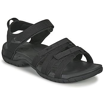 Schoenen Dames Sandalen / Open schoenen Teva TIRRA Zwart