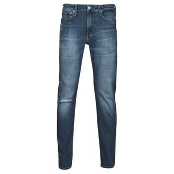 Textiel Heren Straight jeans Calvin Klein Jeans SLIM TAPER Blauw / Medium
