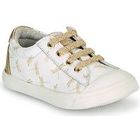 Schoenen Meisjes Lage sneakers GBB MATIA Wit