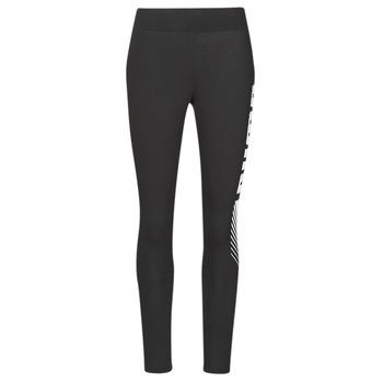 Textiel Dames Leggings Puma ESS+ GRAPHIC LEGGING Zwart