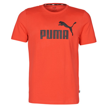 Textiel Heren T-shirts korte mouwen Puma ESSENTIAL TEE Rood