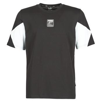 Textiel Heren T-shirts korte mouwen Puma REBEL ADVANCED TEE Zwart