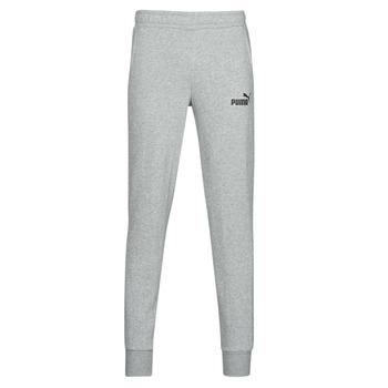 Textiel Heren Trainingsbroeken Puma ESS LOGO SLIM PANT LOGO FL CL Grijs