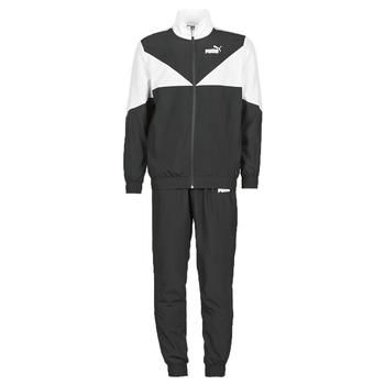 Textiel Heren Trainingspakken Puma Woven Suit CL Zwart / Wit