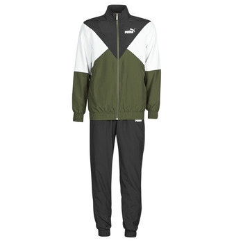 Textiel Heren Trainingspakken Puma Woven Suit OPEN Zwart / Kaki