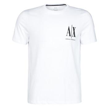 Textiel Heren T-shirts korte mouwen Armani Exchange 8NZTPH-ZJH4Z Wit