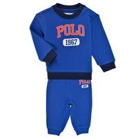 Textiel Jongens Setjes Polo Ralph Lauren NOELLE Blauw