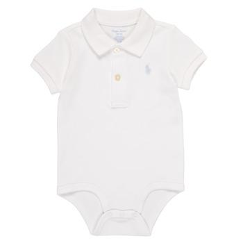 Textiel Jongens Pyjama's / nachthemden Polo Ralph Lauren NOUVEL Wit