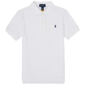 Textiel Jongens Polo's korte mouwen Polo Ralph Lauren MENCHI Wit