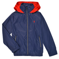 Textiel Jongens Wind jackets Polo Ralph Lauren AMINA Marine