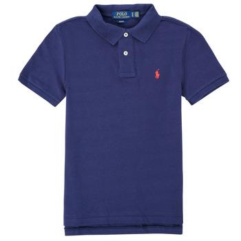 Textiel Jongens Polo's korte mouwen Polo Ralph Lauren FRANCHI Blauw