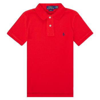 Textiel Jongens Polo's korte mouwen Polo Ralph Lauren FRANCHI Rood
