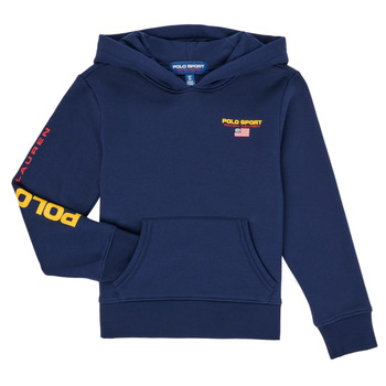 Textiel Jongens Sweaters / Sweatshirts Polo Ralph Lauren AMELIA Marine