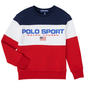 Textiel Jongens Sweaters / Sweatshirts Polo Ralph Lauren TRINITA Multicolour