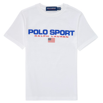 Textiel Jongens T-shirts korte mouwen Polo Ralph Lauren DRONI Wit