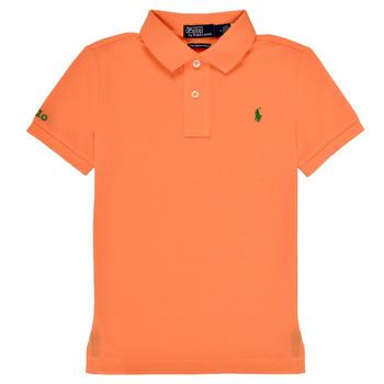 Textiel Jongens Polo's korte mouwen Polo Ralph Lauren POLLIE Orange