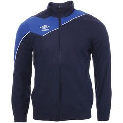 Textiel Heren Trainings jassen Umbro  Blauw