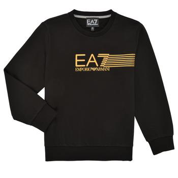 Textiel Jongens Sweaters / Sweatshirts Emporio Armani EA7 3KBM55-BJ05Z-1200 Zwart