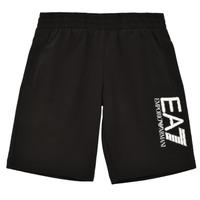 Textiel Jongens Korte broeken / Bermuda's Emporio Armani EA7 3KBS52-BJ05Z-1200 Zwart