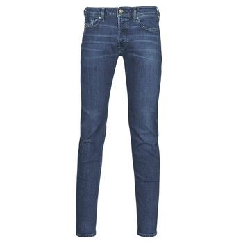 Textiel Heren Skinny Jeans Diesel SLEENKER Blauw / Donker