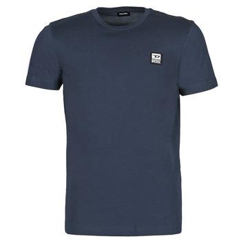 Textiel Heren T-shirts korte mouwen Diesel  Marine
