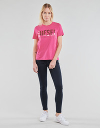 Textiel Dames Skinny Jeans Diesel SLANDY Blauw / Donker