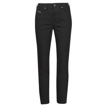 Textiel Dames Straight jeans Diesel D-JOY Zwart