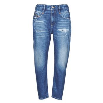 Textiel Dames Boyfriend jeans Diesel D-FAYZA Blauw / Medium