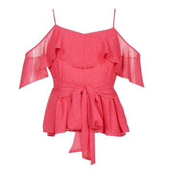 Textiel Dames Tops / Blousjes Guess SL PAULINA TOP Roze