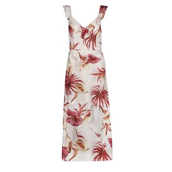 Textiel Dames Lange jurken Guess CORA DRESS Multicolour / Wit
