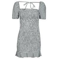 Textiel Dames Korte jurken Guess AIDA  DRESS Zwart / Wit