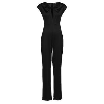 Textiel Dames Jumpsuites / Tuinbroeken Guess ROSANNA JUMPSUIT Zwart